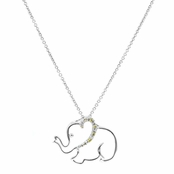 Blair's Designer Inspired Elephant Necklace