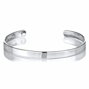 Camille's Sterling Silver Baby Cuff Bracelet - 46 mm