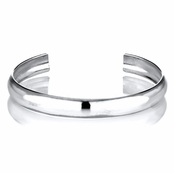 Clara's Hollow Sterling Silver Baby Cuff Bracelet - 46mm
