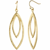 Coco's Boho Goldtone Dangle Earrings