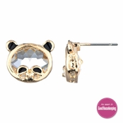 Coraly's Panda Bear Stud Earrings