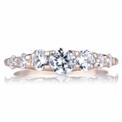 Cordeliah's Rose Gold Plated CZ Eternity Ring