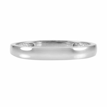 Daphne's Silvertone Wedding Ring Band