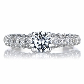 Darcey's Promise Ring - Pave CZ