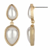 Daria's Imitation Pearl Tear Drop Earrings