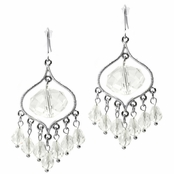 Elise's Briolette Chandelier Earrings