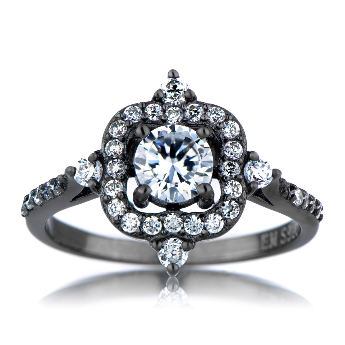Vintage Look Engagement Rings