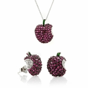 Gift Set: Isabelle's Apple Necklace & Earring Set