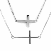 Gift Set: Lucinda's Cross Necklace and Bracelet