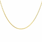"Gold Necklace Chain - 18"" (1mm)"