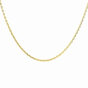"Gold Necklace Chain - 24"" (1mm)"