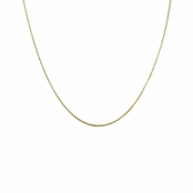 "Gold Tone Tiffany Chain - 22"" (1mm)"