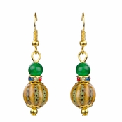 Gretchen's Multi-Color Beaded Dangle Earrings