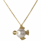 Hailey's Zodiac Horoscope Charm Necklace - Pisces, The Fish