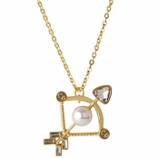 Hailey's Zodiac Horoscope Charm Necklace - Sagittarius, The Archer