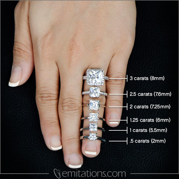 double halo engagement rings on hand 2 carat double halo 4