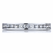 Holly's Round Cut CZ Eternity Band
