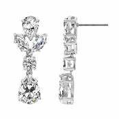 Hollywood CZ Pear Drop Earrings