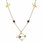 Hunger Games Comparable Jewelry: Katniss's Arrow Necklace