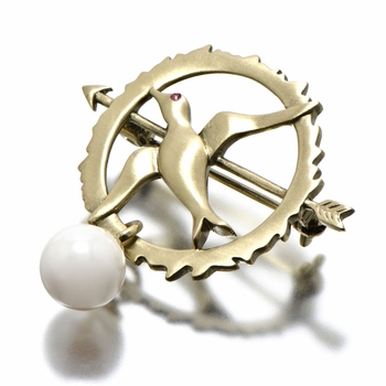 Hunger Games Comparable Jewelry: Mockingjay Pin