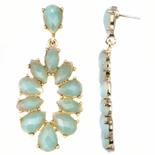 Jasmine's Mint Green Fashion Dangle Earrings