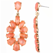 Jasmine's Pink Fashion Dangle Earrings