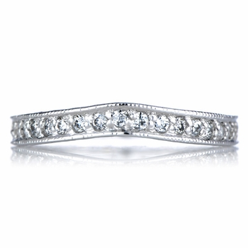 Jemalin's Silvertone CZ Guard Ring