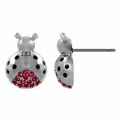 Jess' Ladybug Stud Earrings