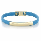 Jude's Magnetic Turquoise Leather Bracelet