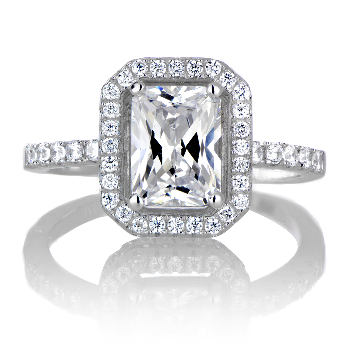 emerald cut engagement rings with wedding band grand sharabooks