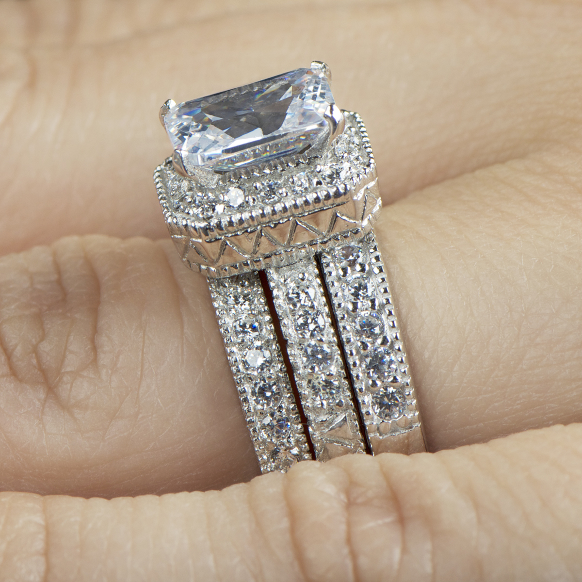 Judy Crowell Engagement Ring
