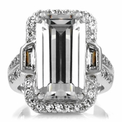 Karleigh's Celebrity Inspired Engagement Ring 20 TCW - Large