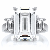 Karleigh's Celebrity Inspired Engagement Ring 6.5 TCW - Petite
