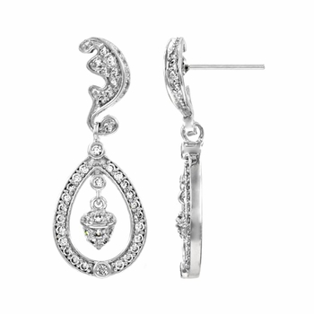Kate's Wedding Dangle Earrings