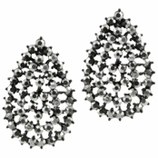 Kelsea's Fancy Faux Hematite Earrings