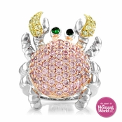 Kirby's Silvertone Crab Cocktail Ring