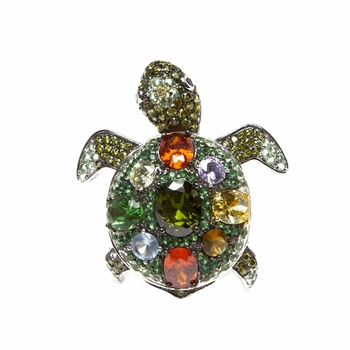 Kritty's Turtle Cocktail Ring - Final Sale