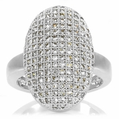 Laura's CZ Diamond Vampire Inspired Wedding Ring