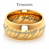 The One Ring in Gold Comparable to The Lord of the Rings and the Hobbit