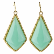 Mabel's Boho Mint Dangle Earrings