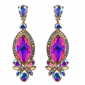 Mandisa's Marquise Crystal Rhinestone Evening Earrings