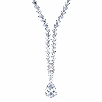 Marilyn's Vintage CZ Necklace