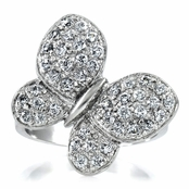 Mariposa's Butterfly Ring - Pave CZ *Final Sale*