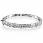 Mary Lou's Fake Diamond Bangle