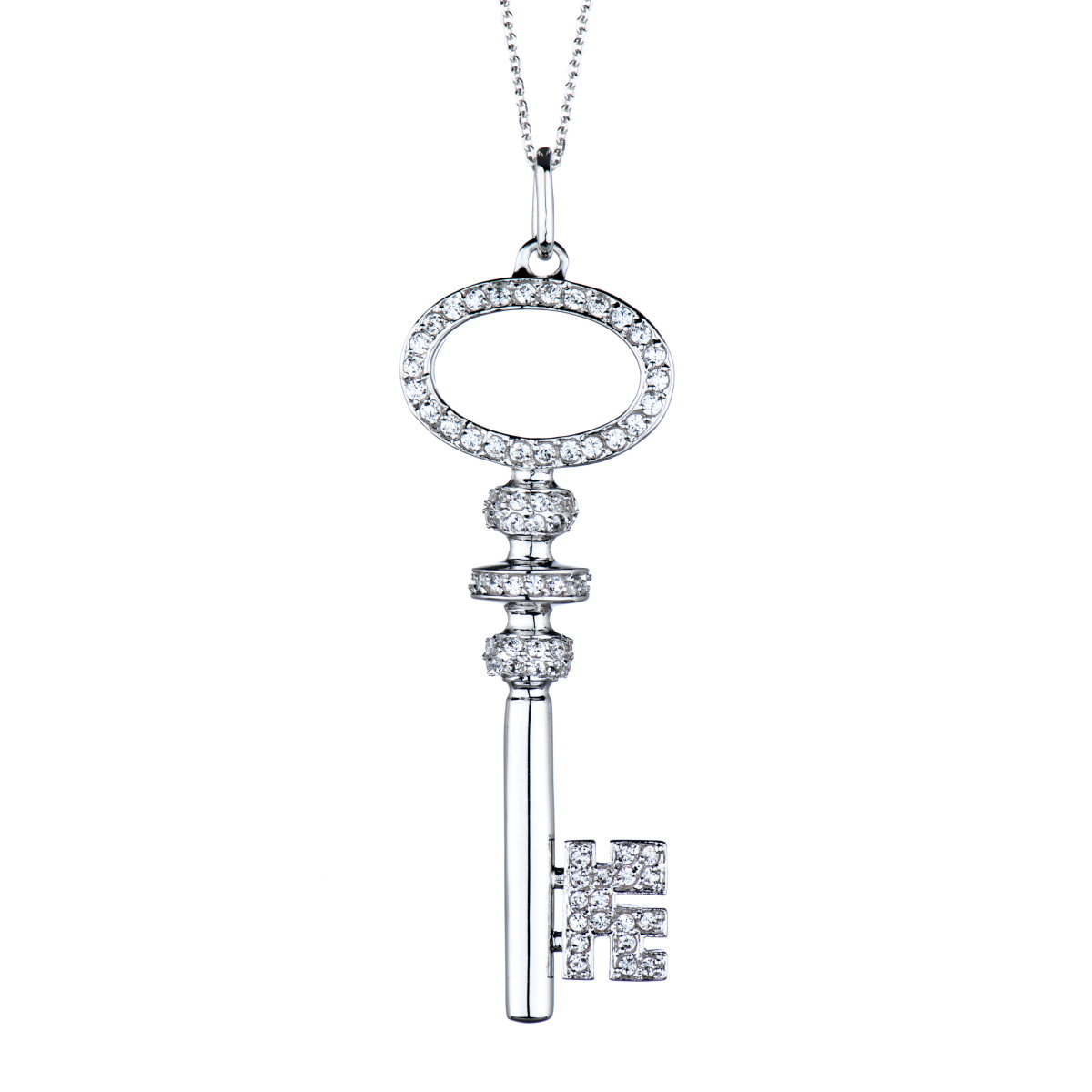 18 inch simulated key necklace