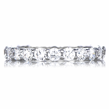 Nancy's CZ Stackable Eternity Band Ring