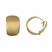 Nathalia's 18k Gold Plated Clip-on Half Hoop Earrings