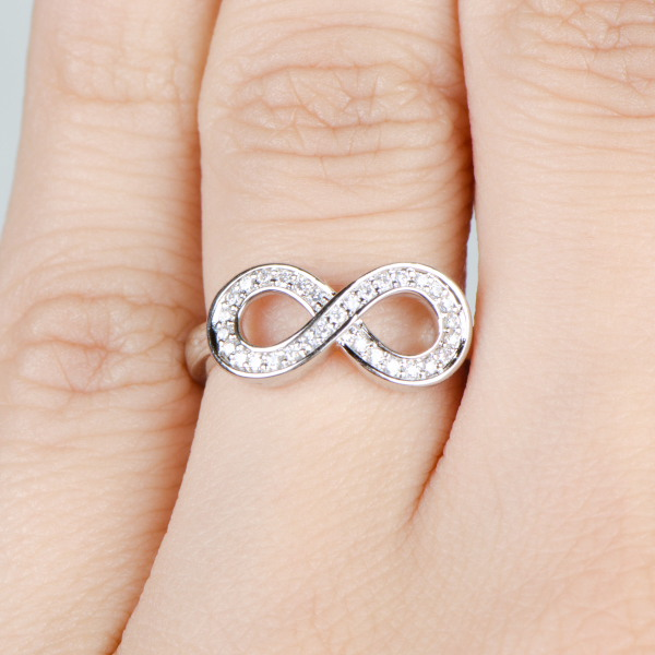 Infinity Promise Rings For Couples