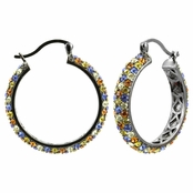 Oria's Multi-Color Hoop Earrings