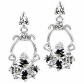 Outlet Item: Hannah's Oval CZ Earrings
